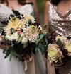 Bridal and bridesmaid bouquet