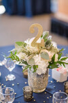Table centrepiece with table marker